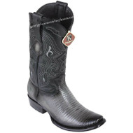 Men's King Exotic Teju Lizard Boots Dubai Toe Handcrafted 4790738