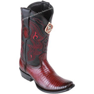 Men's King Exotic Teju Lizard Boots Dubai Toe Handcrafted 4790743
