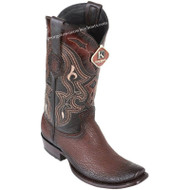 Men's King Exotic Sharkskin Boots Dubai Toe Handcrafted 4790916