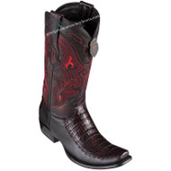 Men's King Exotic Caiman Belly Boots With Deer Dubai Toe Handcrafted 479F8218