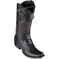 Men's King Exotic Caiman Belly Boots With Deer Dubai Toe Handcrafted 479F8205
