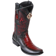 Men's King Exotic Caiman Belly Boots With Deer Dubai Toe Handcrafted 479F8243