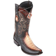 Men's King Exotic Caiman Belly Boots With Deer Dubai Toe Handcrafted 479F8215