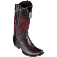 Men's King Exotic Ostrich Boots With Deer Dubai Toe Handcrafted 479F0318