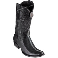 Men's King Exotic Stingray Boots With Deer Dubai Toe Handcrafted 479F1105