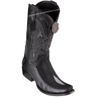 Men's King Exotic Stingray Boots With Deer Dubai Toe Handcrafted 479F1205