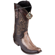 Men's King Exotic Python Boots With Deer Dubai Toe Handcrafted 479F5785
