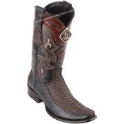 Men's King Exotic Python Boots With Deer Dubai Toe Handcrafted 479FN5707