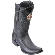 Men's King Exotic Sharkskin Boots With Deer Dubai Toe Handcrafted 479F0938