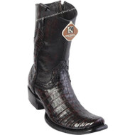 Men's King Exotic Caiman Belly Boots Dubai Toe Handcrafted 479B8218