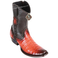 Men's King Exotic Caiman Belly Boots Dubai Toe Handcrafted 479B8257
