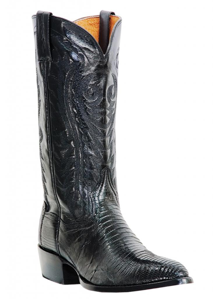 0f16a70e3a8 Dan Post Men's Black Lizard Western Boots DP2350