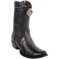 Men's King Exotic Ostrich Boots Dubai Toe Handcrafted 479B0318