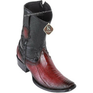 Men's King Exotic Ostrich Leg Boots Dubai Toe Handcrafted 479B0543