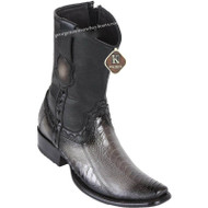 Men's King Exotic Ostrich Leg Boots Dubai Toe Handcrafted 479B0538