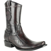 Men's King Exotic Genuine Ostrich Leg Boots Dubai Toe Handcrafted 479B0518