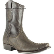 Men's King Exotic Python Boots Dubai Toe Handcrafted 479BN5707