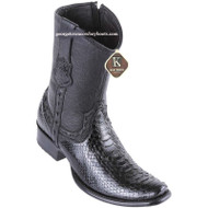 Men's King Exotic Python Boots Dubai Toe Handcrafted 479B5705