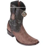 Men's King Exotic Teju Lizard Boots Dubai Toe Handcrafted 479B0735