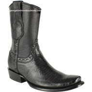 Men's King Exotic Lizard Boots With Inside Zipper Dubai Toe Handcrafted 479B0705