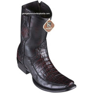 Men's King Exotic Caiman Belly Boots With Deer Dubai Toe Handcrafted 479BF8218