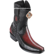 Men's King Exotic Stingray Boots With Deer Dubai Toe Handcrafted 479BF1143
