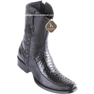 Men's King Exotic Python Boots With Deer Dubai Toe Handcrafted 479BF5705