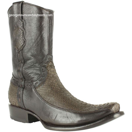 Men's King Exotic Python Boots Dubai Toe Handcrafted 479BFN5707