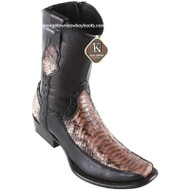 Men's King Exotic Python Boots With Deer Dubai Toe Handcrafted 479BF5785