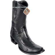 Men's King Exotic Ostrich Leg Boots With Deer Dubai Toe Handcrafted 479BF0505