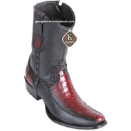 Men's King Exotic Ostrich Leg Boots With Deer Dubai Toe Handcrafted 479BF0543