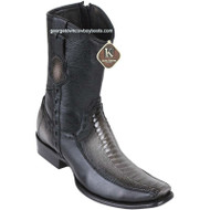 Men's King Exotic Ostrich Leg Boots With Deer Dubai Toe Handcrafted 479BF0538