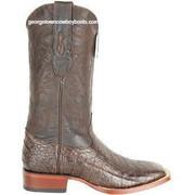 Men's Los Altos Caiman Belly Square Toe Boots Handcrafted 8228207