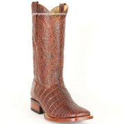 Men's Los Altos Caiman Belly Square Toe Boots Handcrafted 822G8203