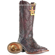 Men's Los Altos Square Toe Caiman Hornback Boots 8220218