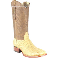 Men's Los Altos Genuine Caiman Hornback Boots Handcrafted 822G0251