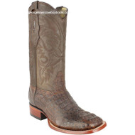 Men's Los Altos Caiman Hornback Boots Square Toe Handcrafted 822G0207