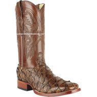 Men's Los Altos Genuine Pirarucu Fish Boots Handcrafted 8221007