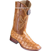 Men's Los Altos Genuine Pirarucu Fish Boots Handcrafted 8221002
