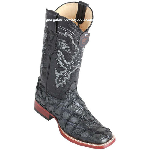 Men's Los Altos Genuine Pirarucu Fish Boots Handcrafted 8221009