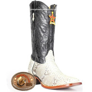 Men's Los Altos Square Toe Python Boots Handcrafted 8225749