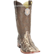 Men's Los Altos Square Toe Python Boots Handcrafted 8225785
