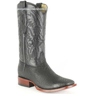 Men's Los Altos Genuine Sharkskin Square Toe Boots Handcrafted 8220905