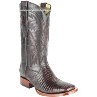 Men's Los Altos Teju Lizard Boots Square Toe Handcrafted 8220718