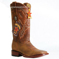 Men's Los Altos Leather Square Toe Boots Handcrafted 8229951