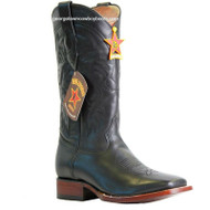 Men's Los Altos Leather Square Toe Boots Handcrafted 8223805