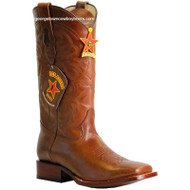 Men's Los Altos Leather Square Toe Boots Handcrafted 8223807