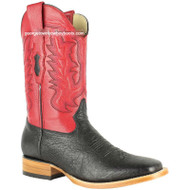Men's Los Altos Smooth Ostrich Boots Square Toe Handmade 8279705