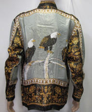 Men Vintage Shirt : EAGLES Vintage Silk Shirt