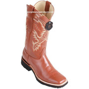 Men's Los Altos Leather Boots Square Toe Handcrafted 82E3851